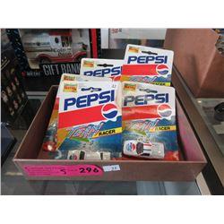 Die-Cast Pepsi Team Racer Cars