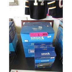 2 Sirius Satellite Starmate Radios with Adapters