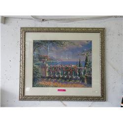 Large Scaled Framed Harbour Print