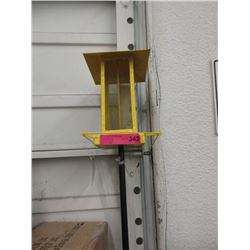 New Bird Feeder with Telescopic Post - Yellow