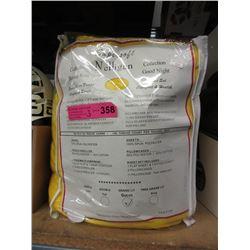 New Queen Spun Polyester Sheet Set - Yellow