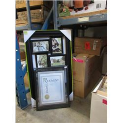 2 Cases of New Picture Frames
