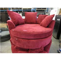 New Red Cuddler Chair