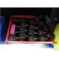 2 Bins of New Drill Chucks