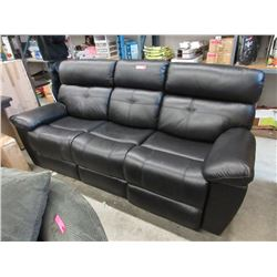 New Leather Double Reclining Sofa