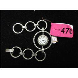 Vintage Dugena .835 Silver Watch
