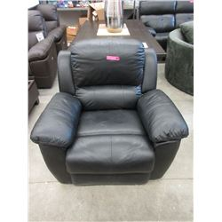 New Leather Manual Recliner