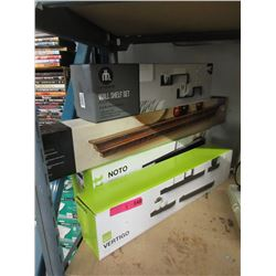4 New Assorted Floating Shelves