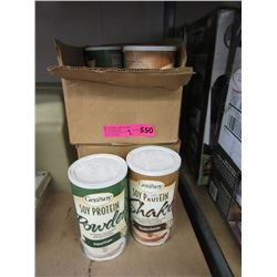 2 Cases of Soy Protein Mix
