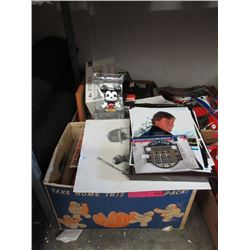 2 Boxes of Memorabilia & Household Goods