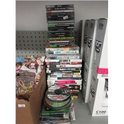 40+ Assorted PlayStation Games