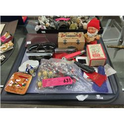 Collection of Assorted Vintage Collectibles