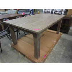 New LH Imports Sun Dried Dining Table