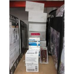14 Boxes of Halogen Light Shades & Mini Bulbs