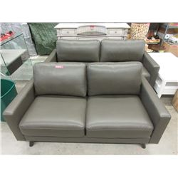 New Top Grain Leather Sofa & Loveseat