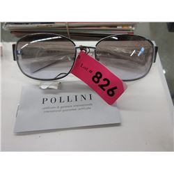 New Black and White Pollini Sunglasses
