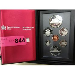 1987 Canadian Double Dollar Proof Coin Set