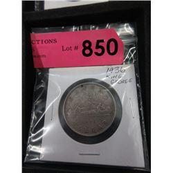 1936 Canadian Silver Dollar - .800 Silver