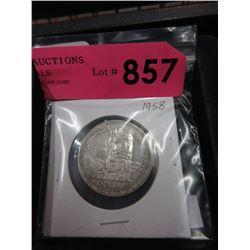 1958 Canadian Silver Dollar - .800 Silver