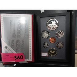 1990 Canadian Double Dollar Proof Coin Set