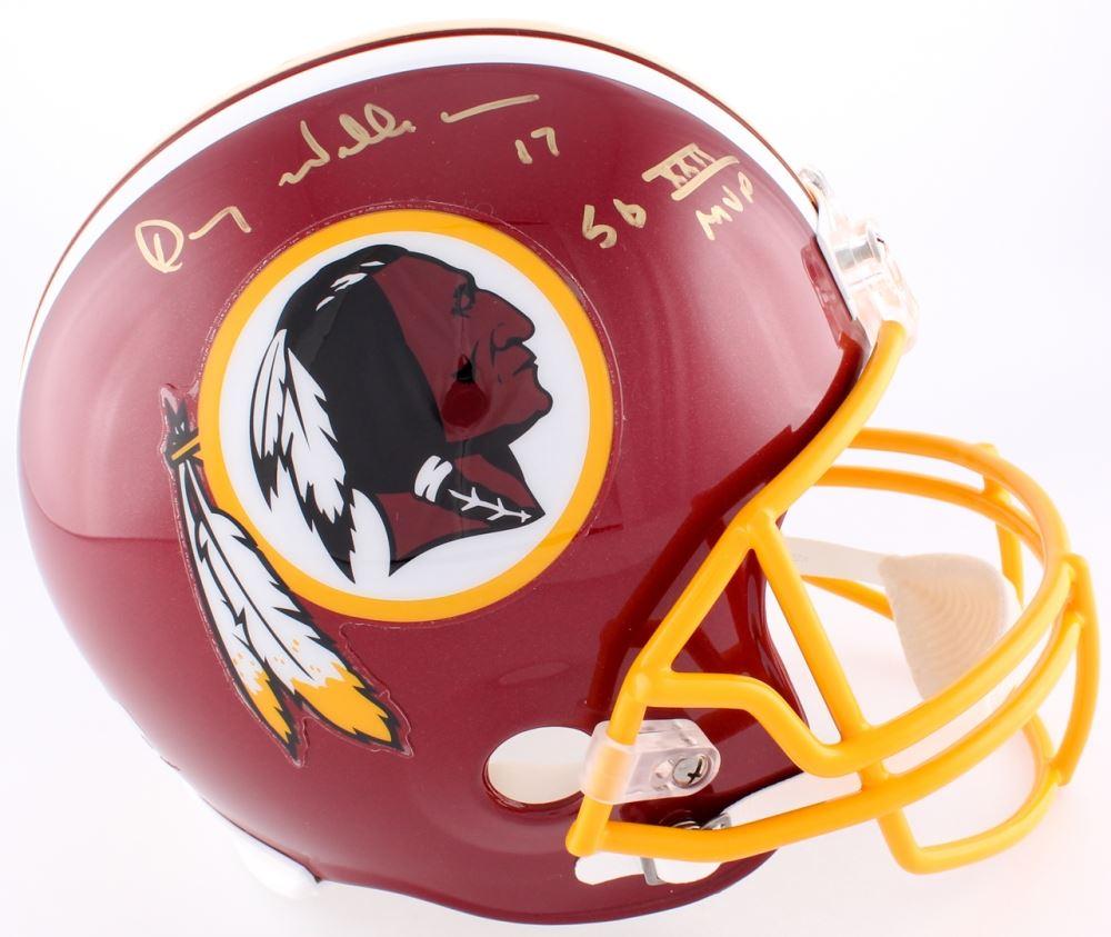 f2251f2b Image 1 : Doug Williams Signed Redskins Full-Size Helmet Inscribed