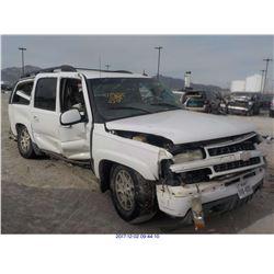 2003 - CHEVROLET SUBURBAN 1500