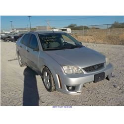 2006 - FORD FOCUS// SALVAGE TITLE // EXPORT ONLY