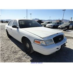 2001 - FORD CROWN VICTORIA // TX TITLE