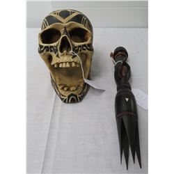 Cannibal Fork & Skull Copy