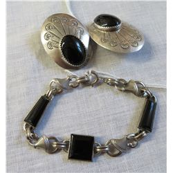 Mexican Sterling Silver & Stone Jewelry