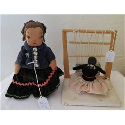 2 Native American Dolls
