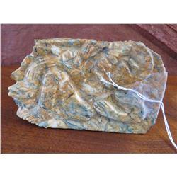 Olmec Jade Plaque