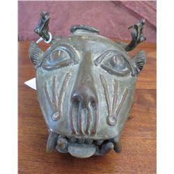 Benin Cat Bronze