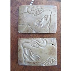 Olmec Stone Belt Plates