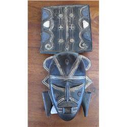 African Ligbi Wood Mask