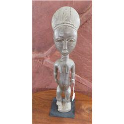 Baule Female Figure w/Stand