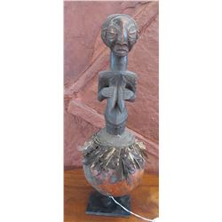 African Luba Fetish Figure
