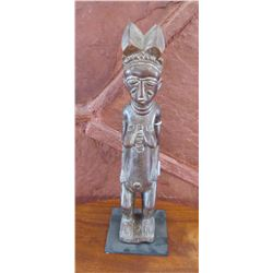 Standing Baule Female Figure on Stand