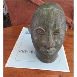 African Ife Bronze w/Report