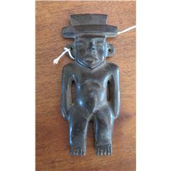 Teotihuacan Basalt Figure