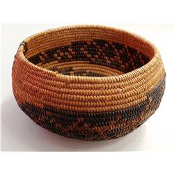 Mission Indian Snake Basket
