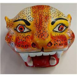 Mexican Jaguar Helmet Festival Mask