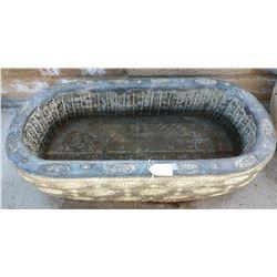 Giant Jade Engraved Bowl