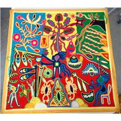 Huichol Yarn Art
