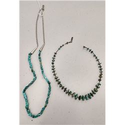 2 Turquoise Necklaces