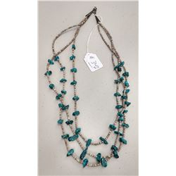 3 Strand Navajo Necklace