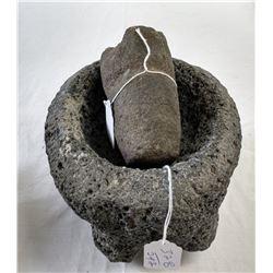 Pre-Columbian Mortar & Pestle
