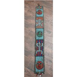 African Effigy Beaded Belt