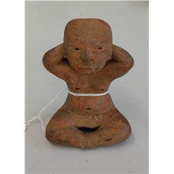 Seated Olmec Figure