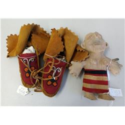 Mojave Doll & Moccasins